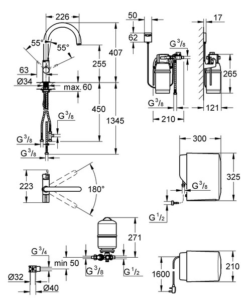 Technical drawing 33347 / 30058DC0