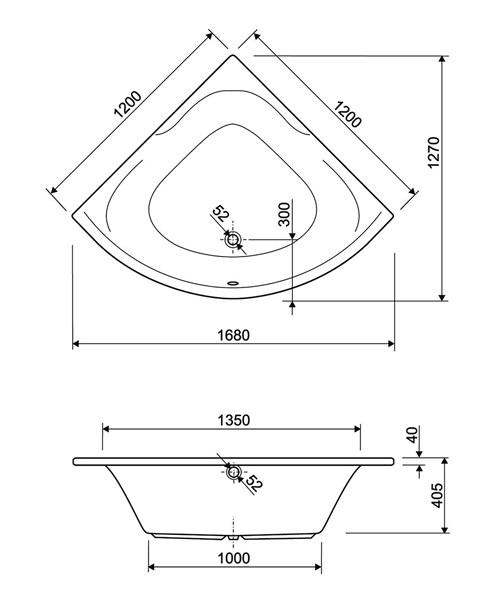 Technical drawing 33973 / 200SATELLITECWS06