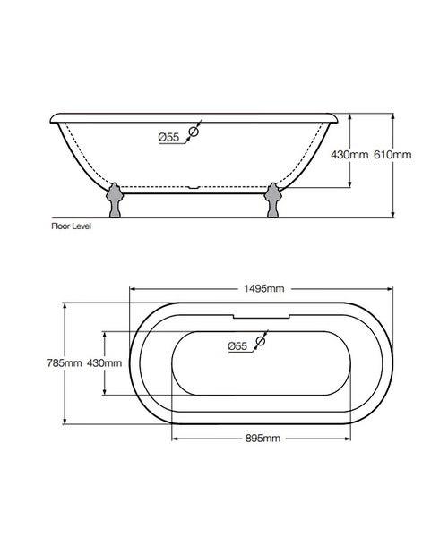 Technical drawing 34056 / RMKD1495785