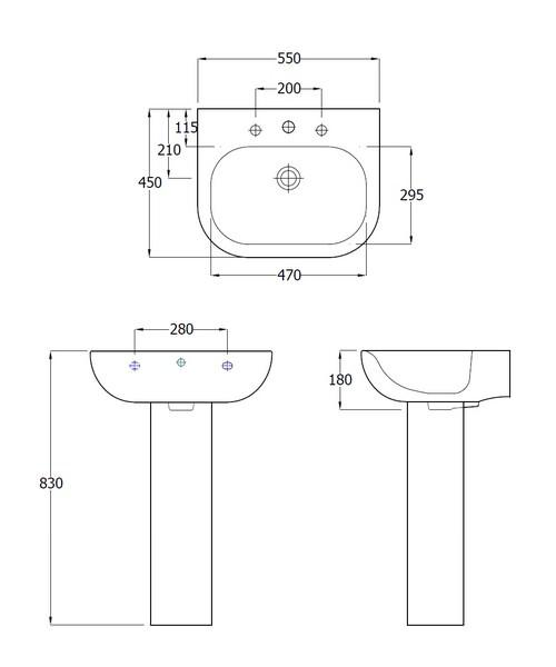 Technical drawing 34202 / EC1001