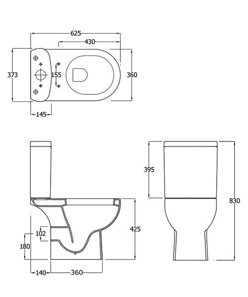 Technical drawing 34207 / EC1003