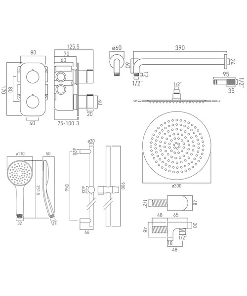 Technical drawing 34288 / TAB-1720/ALT-AS-CP