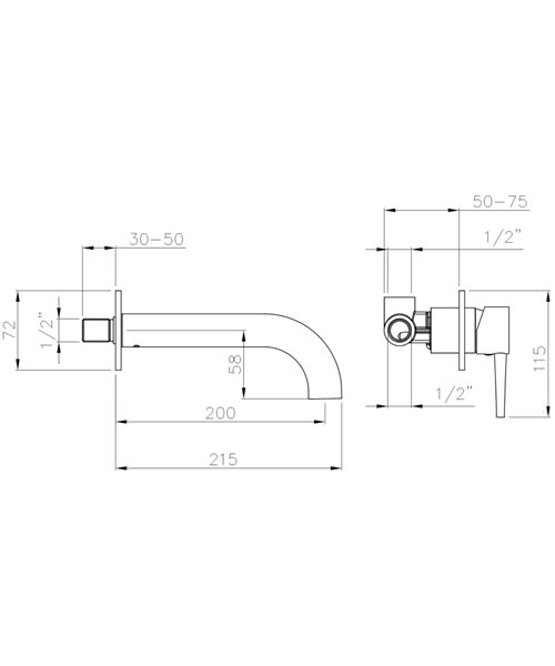 Technical drawing 34401 / AB4046
