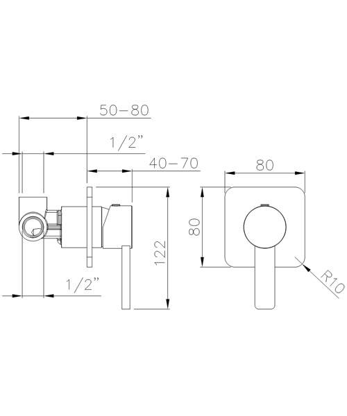 Technical drawing 34418 / AB4094