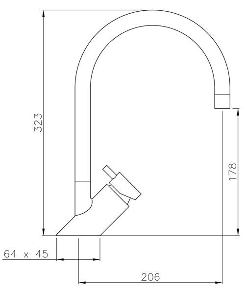 Technical drawing 34454 / AT1105
