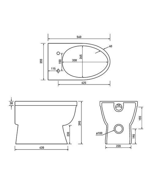 Technical drawing 34586 / EM044