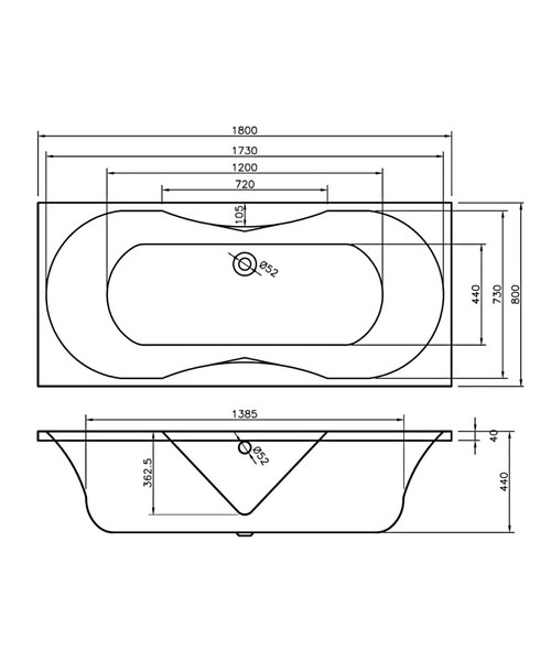 Technical drawing 34588 / BH006S1