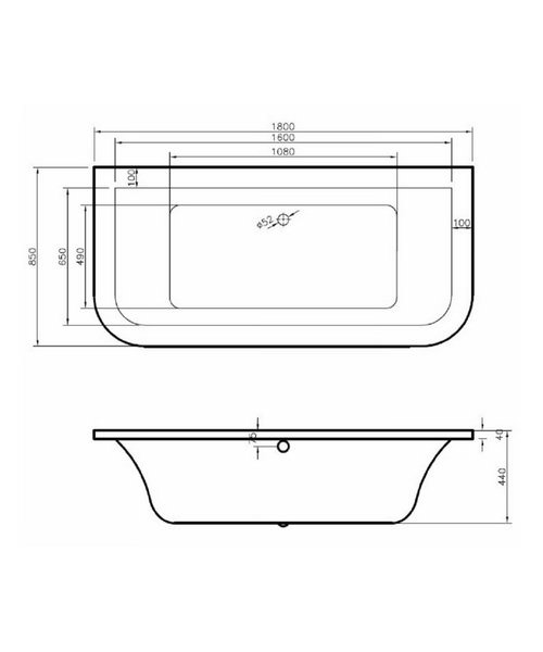 Technical drawing 34591 / BH019S1
