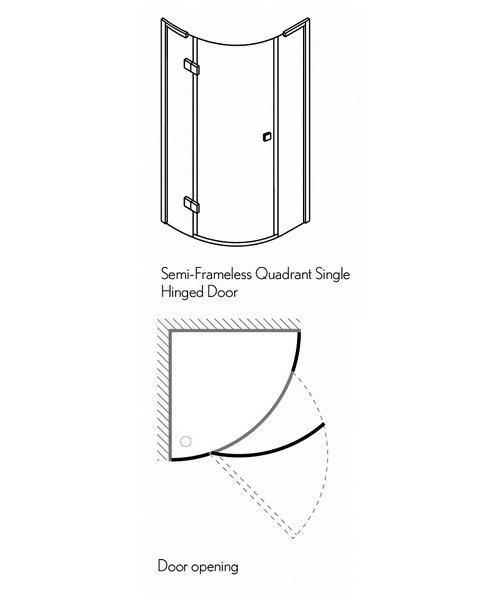 Technical drawing 3464 / DQSSC10X8