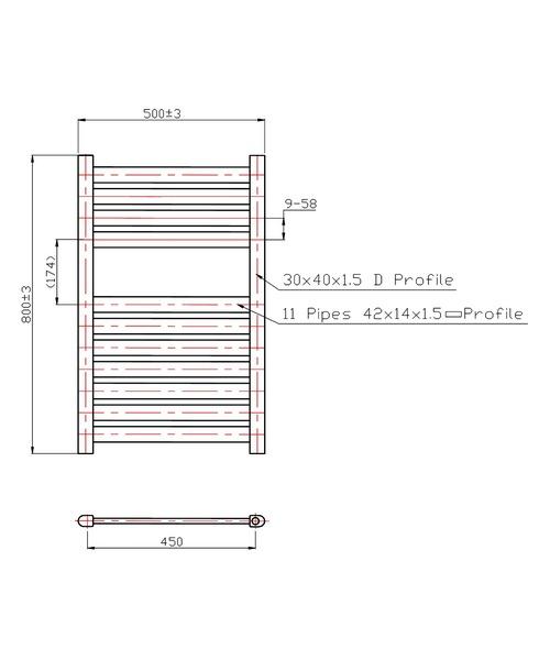 Technical drawing 3556 / RA023