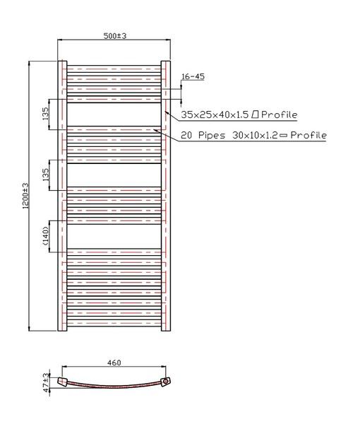 Technical drawing 3561 / RA054
