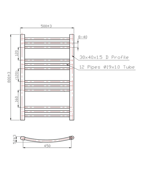 Technical drawing 3568 / RA021
