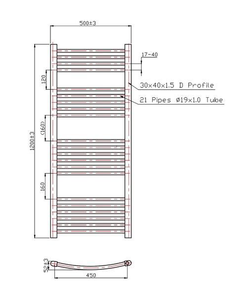 Technical drawing 3570 / RA017