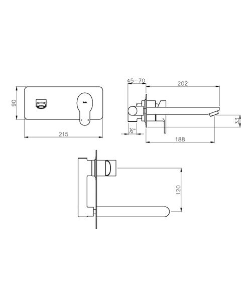 Technical drawing 35766 / AB1554