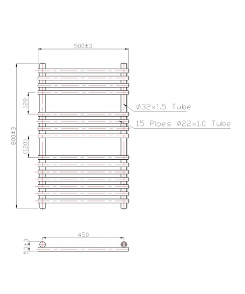 Technical drawing 3576 / RA013