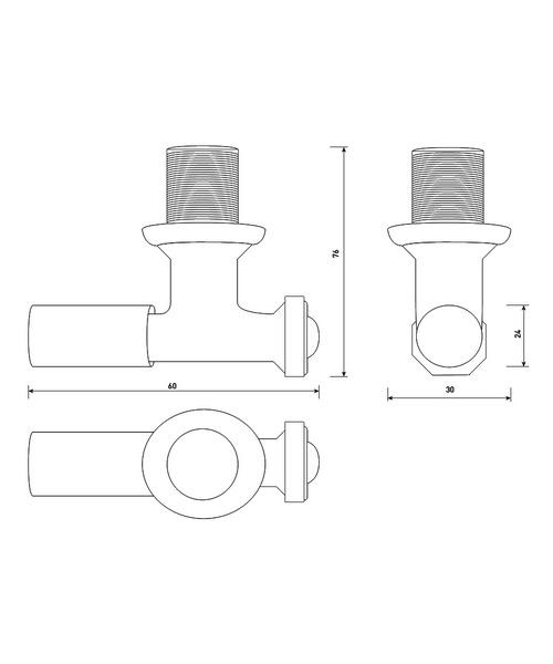 Technical drawing 3590 / VA001