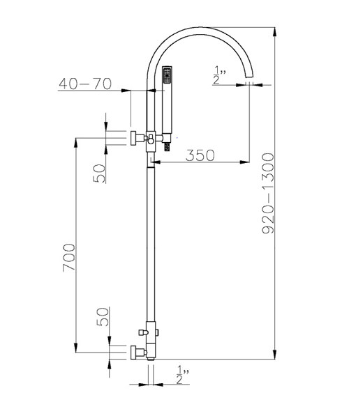 Technical drawing 35938 / AB2302