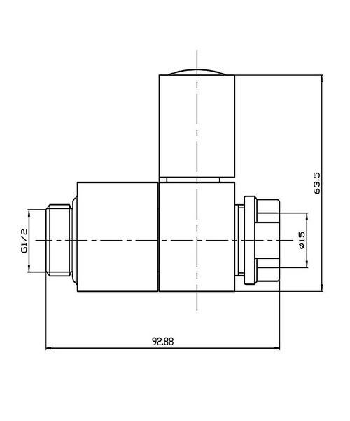 Technical drawing 3595 / VA004