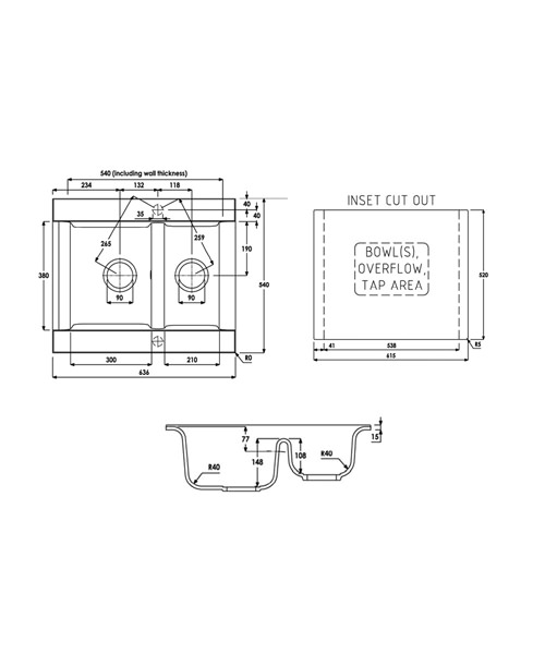 Technical drawing 35971 / AW3003