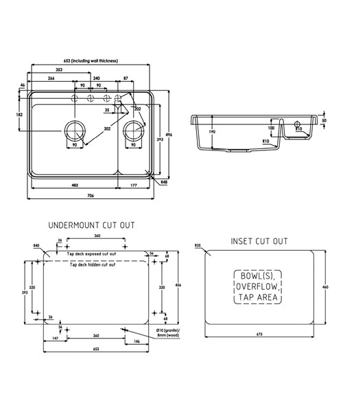 Technical drawing 35980 / AW3111