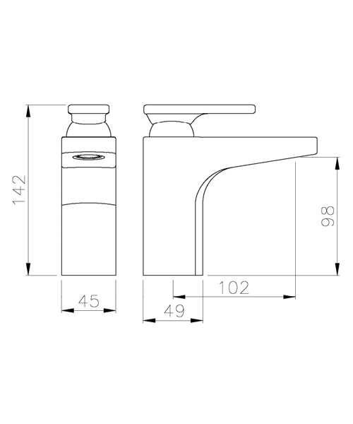 Technical drawing 35981 / AB1005