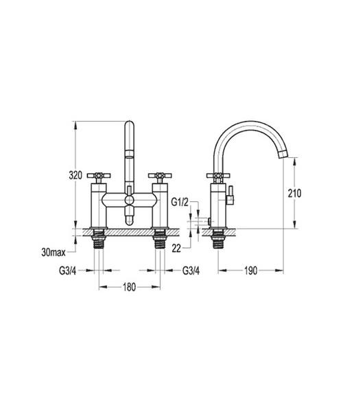 Technical drawing 36039 / XLBSM