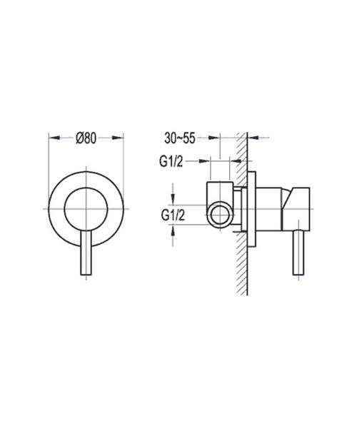 Technical drawing 36067 / LVSHVOS