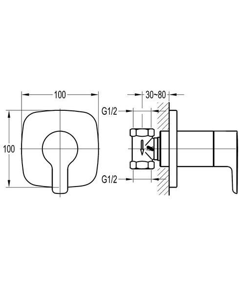 Technical drawing 36078 / URSV