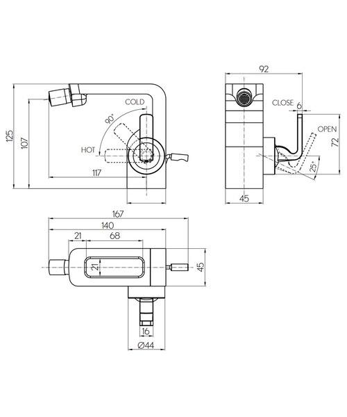Technical drawing 36294 / KH01_210DPC