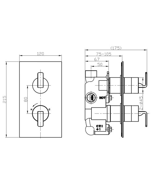 Technical drawing 36299 / KH01_1000RC