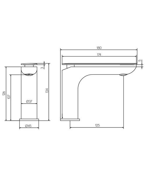 Technical drawing 36305 / KH02_110DNC