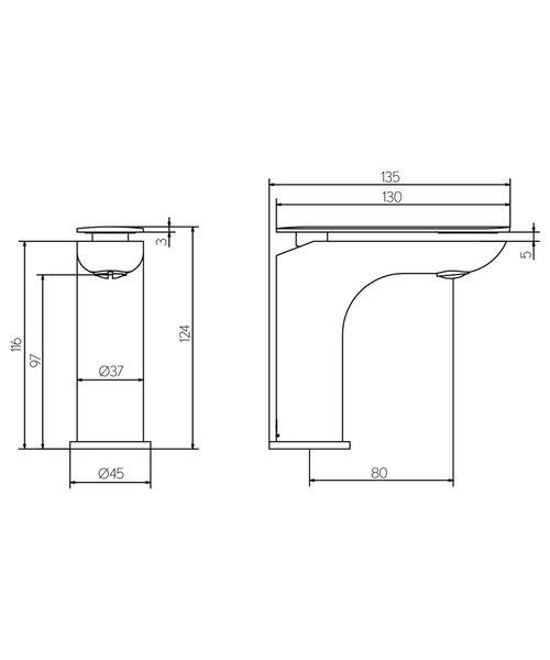 Technical drawing 36306 / KH02_114DNC