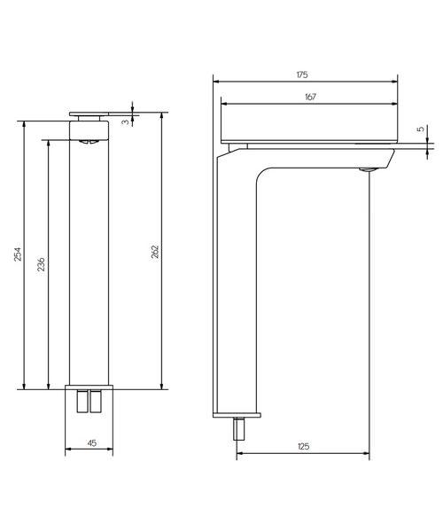 Technical drawing 36323 / KH03_112DNC