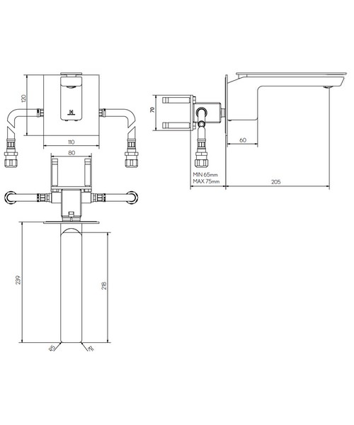 Technical drawing 36324 / KH03_120WNC