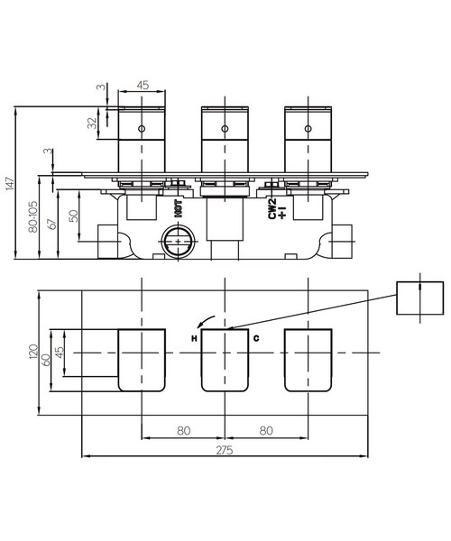 Technical drawing 36332 / KH03_2001RC