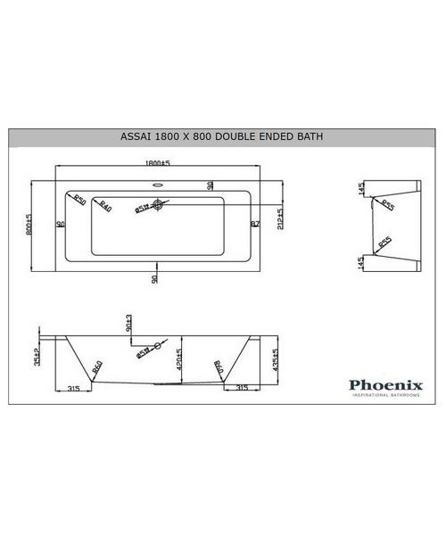 Technical drawing 3633 / ASS1880BL