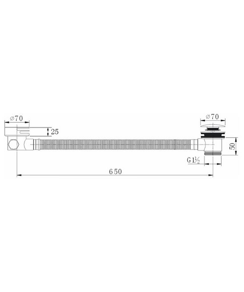Technical drawing 36496 / BF1865
