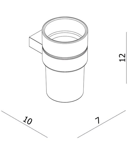 Technical drawing 36754 / PRO003C