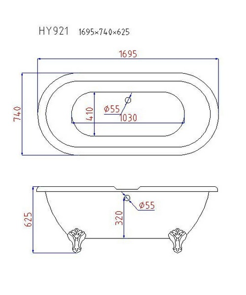 Technical drawing 3686 / RT002