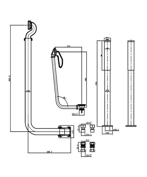 Technical drawing 3687 / WA007