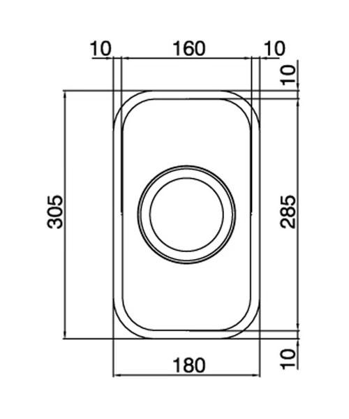 Technical drawing 36984 / EDH1XXHOMESK