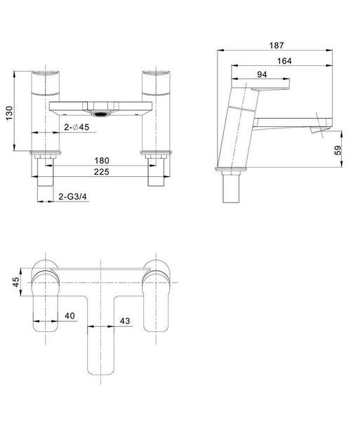 Technical drawing 37715 / KH06_322DC
