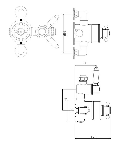 Technical drawing 37780 / A3099E