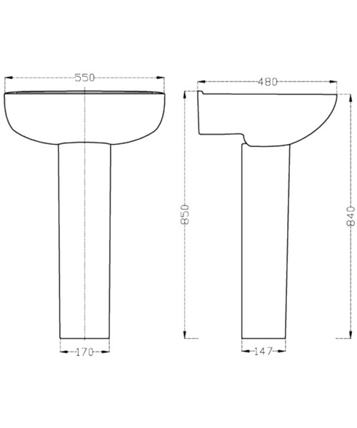 Technical drawing 37795 / CLW003