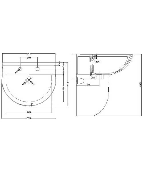 Technical drawing 37814 / NCS222