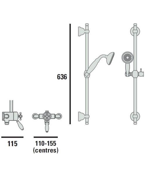 Technical drawing 38092 / SLCDUALMIN 02