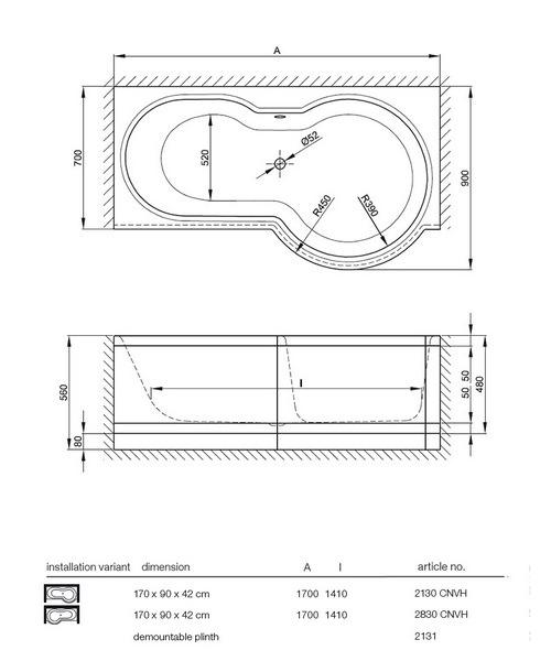 bette cora comfort niche super steel shower bath 1700 x bette cora p shaped super steel shower bath 1700 x 900mm lh