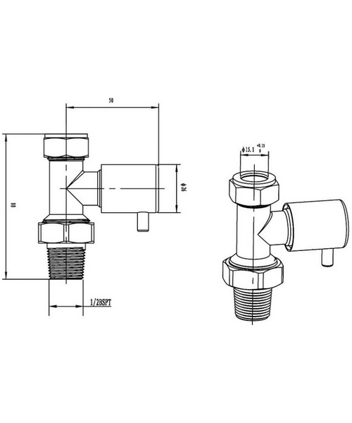 Technical drawing 39458 / HT327