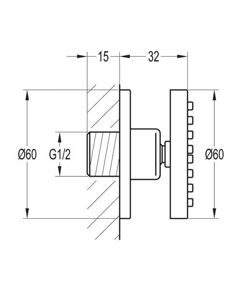 Technical drawing 40044 / KI027