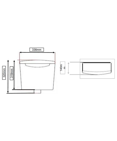Technical drawing 40521 / CFC32